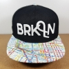 Flat Fitty Brooklyn Map ฟรีไซส์ Snapback 57-59.6cm