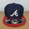 New Era MLB ทีม Atlanta Braves ไซส์ 7 1/4 แต่วัดได้ ( 59cm )