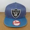 New Era NFL ทีม Oakland Raiders ฟรีไซส์ Snapback 57-60.6cm