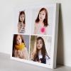 กรอบลอย ผ้าแคนวาส Photo Collage 4 รูป คลิ๊ก!