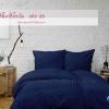 ผ้าปูที่นอนสีน้ำเงิน รหัส 15