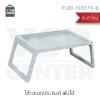 โต๊ะพับ โต๊ะอเนกประสงค์พับเก็บได้ ขนาดพกพา ทรงสี่เหลี่ยมผืนผ้า ขาพับเก็บได้ สีเขียวพาสเทล รุ่น F140-YH1079-B