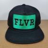 FLVR แบรนด์ Tastemakers ลายปักเขียว ฟรีไซส์ Snapback 57-60.6cm