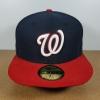 New Era MLB ทีม Washington Nationals 🎃Fitted ไซส์ 7 1/4 วัดได้ (58cm)