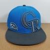 New Era MLB ทีม Colorado Rockies 59Fiffty 🎃ไซส์ 7 1/4 แต่วัดได้ ( 57.2cm )