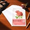 กระดาษดราฟร่างเบา แบบฝึกหัดภาพระบายสี ภาพดอกกุหลาบ จากเล่มสอนระบายสีไม้ดอกกุหลาบ