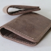 กระเป๋าธนบัตรหนังแท้ แบบพับครึ่ง (Folded Wallet) pre-order