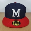 New Era Cooperstown ทีม Milwaukee Braves ไซส์ 7 1/4 ( 57.7cm )