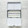 กล่องใส่สีน้ำ ขนาด S พร้อม แพนเปล่า 12/ 14/ 17/ 19 ชิ้น เป็นจานสีในตัว (พร้อมส่ง)
