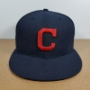 New Era MLB ทีม Clevland Indians 59Fiffty 🎃ไซส์ 7 1/8 ( 56.8cm )