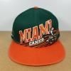 New Era NCAA ทีม Miami Canes ฟรีไซส์ Snapback