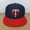 ์New Era MLB ทีม Minnesota Twins ไซส์ 7 1/8 แต่วัดได้ (57.3cm)