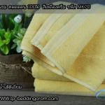 ผ้าเช็ดตัวไซส์คนไทยสีเหลืองครีม 27″x 54″ นิ้ว 12 Ibs