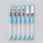 พู่กันแทงค์ เซท 6 แท่ง พู่กันระบายสีน้ำ พู่กัน Sketch สีน้ำ เก็บน้ำได้ในแท่ง สะดวกต่อการพกพา