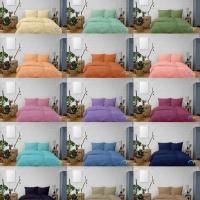 ชุดผ้าปูที่นอนสีพื้น Microtex Classic Color sheet 370 Thead/inch.