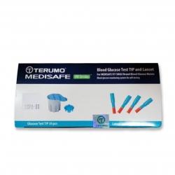 เข็มเจาะและกระเปาะสำหรับเครื่องตรวจน้ำตาล รุ่น Terumo medisafe EX Fit & Fit Smile อย่างละ 30 ชุด