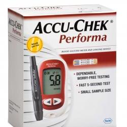 เครื่องตรวจระดับน้ำตาลในเลือดรุ่น Accu-Chek Performa