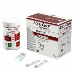 แผ่นตรวจวัดน้ำตาล รุ่น Acuu-Chek Perfoma Test strip