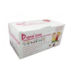 หน้ากากอนามัยลายการ์ตูนสำหรับเด็ก Dura Kids บรรจุ 50 ชิ้น