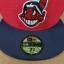 New Era MLB ทีม Clavland Indians ผ้า Daimond Era ไซส์ 7 3/8 ( 58.7cm ) thumbnail 3