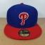 New Era MLB ทีม Philladelphia Phille ไซส์ 7 1/4 แต่วัดได้ ( 58.5cm ) thumbnail 1