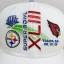 Reebok NFL Super Bowl 2009 XLII ฟรีไซส์ ตีนตุ๊กแก 57-59.6cm thumbnail 2