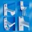 CASSA ราวแขวนผ้าอลูมีเนียม ในห้องน้ำ แบบเจาะผนัง ราวเดี่ยว พร้อมตะขออเนกประสงค์ รุ่น 133-ALM-8077-160 thumbnail 3