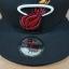 New Era NBA ทีม Miami Heats ไซส์ 7 3/4 ( 61.5cm ) thumbnail 3