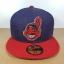 New Era MLB ทีม Clavland Indians ไซส์ 7 5/8 ( 60.6cm ) thumbnail 1