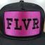 FLVR แบรนด์ Tastemakers ลายปักชมพู ฟรีไซส์ Snapback 57-60.6cm thumbnail 2