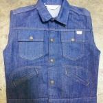 12.JC Penney แจ็คเก็ตผ้าหนังไก่ สภาพไม่โดนน้ำ made in USA ราคา 1100