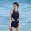 ชุดว่ายน้ำวันพีชสีกรม มีที่ติดตะขอสีทองตรงคอ ไซส์ L thumbnail 1