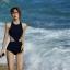 ชุดว่ายน้ำวันพีชสีกรม มีที่ติดตะขอสีทองตรงคอ ไซส์ L thumbnail 4