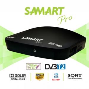 กล่องรับสัญญาณดิจิตอล ยี่ห้อ สามารถ รุ่น สตรอง โปร SAMART STRONG PRO - Black