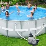 สระว่ายน้ำสำเร็จรูป Size 18 ฟุต
