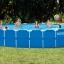 สระว่ายน้ำสำเร็จรูป 24 ฟุต แบบกลม thumbnail 1