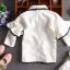 แจ็คเก็ตสีขาว ไซค์สำหรับเด็กโต ใส่คลุมกับชุดไหนก็สวย งานดีสวยมากค่ะ thumbnail 6