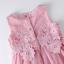 เดรสเด็กหญิงแขนกุดสีชมพูติดดอกไม้ งานสวยคุณภาพดีสวยเหมือนแบบ น่ารักมากค่ะ thumbnail 4