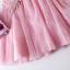 เดรสเด็กหญิงแขนกุดสีชมพูติดดอกไม้ งานสวยคุณภาพดีสวยเหมือนแบบ น่ารักมากค่ะ thumbnail 3