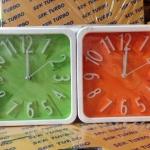 นาฬิกาปลุก เหลี่ยม แพ็ก 2 ตัว