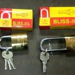 แม่กุญแจ สปริง Bliss ขนาด 38 mm