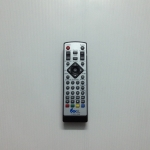 รีโมทกล่องดิจิตอลทีวี ONEBOXHOME เงิน