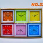 นาฬิกาปลุก ตั้งโต๊ะ รุ่น No.220 แพ็ก 6 ตัว