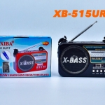 วิทยุ Fm-Am ขนาดเล็ก พกพา รุ่น XB-515URT