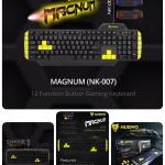 คีย์บอร์ด keyboard nubwo nk-007