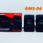 ลำโพงคอม Gearmaster รุ่น GMS-06