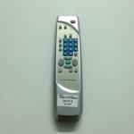 รีโมททีวีไดสตาร์จีน จอแบน Distar เงิน 3 ปุ่มล่าง
