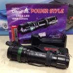 ไฟฉายตำรวจ LED Ultrafire cree PL-109