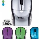เม้าส์ mouse Gtech 1200dpi ผิวเรียบ