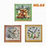 นาฬิกาแขวนผนัง รุ่น NO. G8 การ์ตูน